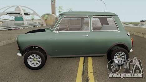 British Leyland Mini 1000 1977 Black Bonnet para GTA San Andreas