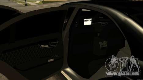 Mercedes-Benz S63 AMG [ARM] para GTA San Andreas
