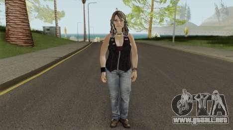 Bartender (from Bikers DLC) GTA V para GTA San Andreas