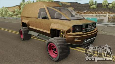 Declasse Brutus Stock GTA V para GTA San Andreas