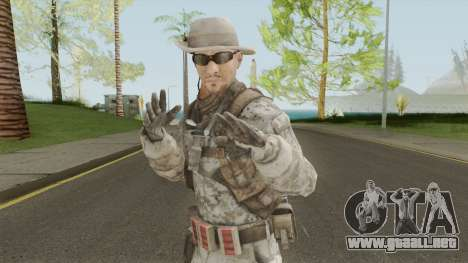 Skin 3 (Spec Ops: The Line - 33rd Infantry) para GTA San Andreas