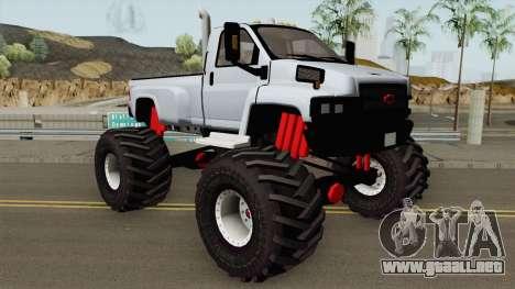Chevrolet Kodiak C4500 Monster Truck 2008 para GTA San Andreas