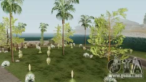 Mobile Vegetation for PC para GTA San Andreas