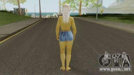 Misaki Denim Dress DoA5 para GTA San Andreas