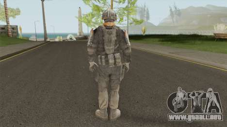 Elite 01 The Zulu Squad (Spec Ops: The Line) para GTA San Andreas