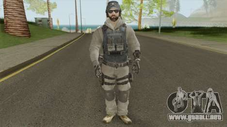 ISA LMG (Call of Duty: Black Ops 2) para GTA San Andreas