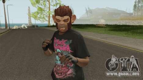 Skin Random (Monkey Mask) para GTA San Andreas