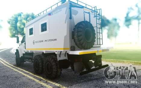 Ural SIGUIENTE 4320-6952-72Е5Г38 004 unidad Resi para GTA San Andreas