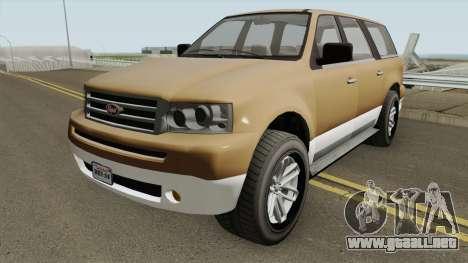 Vapid Prospector Normal V2 GTA V para GTA San Andreas