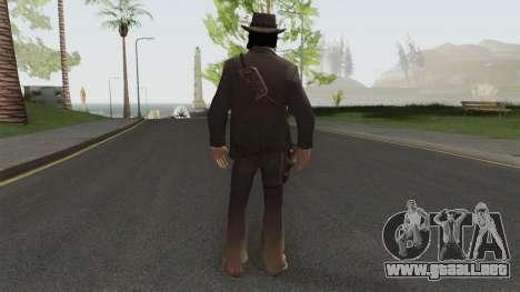 John Marston Elegant Outfit From RDR 2 V1 para GTA San Andreas