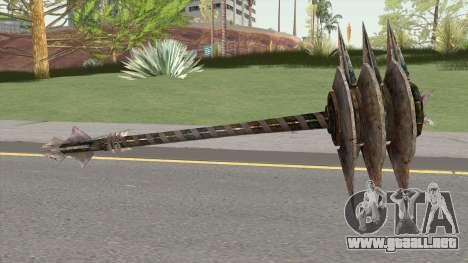 Grimlock Weapon para GTA San Andreas