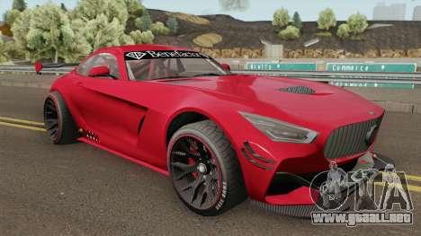Benefactor Schlagen GT3 GTA V IVF para GTA San Andreas