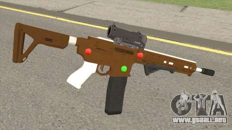 GTA Online: Carbine Rifle Mk.II Fruitcake para GTA San Andreas