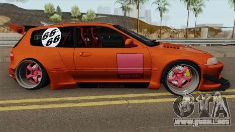 Honda Civic EG6 Pandem para GTA San Andreas