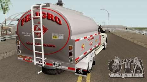 Dodge Ram Camion Cisterna para GTA San Andreas