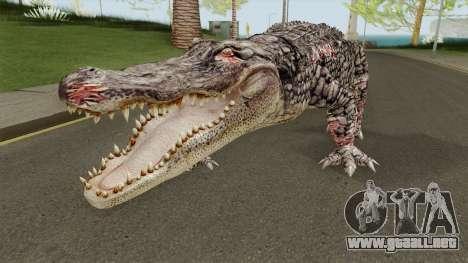 Alligator (Resident Evil) para GTA San Andreas