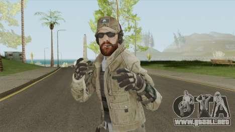 ISA SMG (Call of Duty: Black Ops 2) para GTA San Andreas