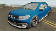 Volkswagen Saveiro Cross Pickup Low para GTA San Andreas