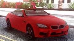 BMW M6 F12 Red para GTA San Andreas