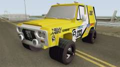 Aro 244 Dakar from Mamaia Vice para GTA San Andreas