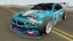BMW M4 F82 Hatsune Miku