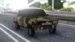 2107 Verano De Camuflaje para GTA San Andreas
