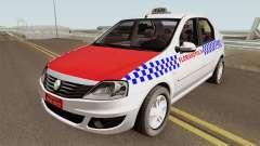 Renault Logan Taxi Florianopolis para GTA San Andreas