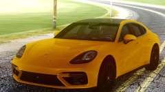 Porsche Panamera Yellow para GTA San Andreas