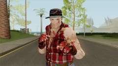 Cliff Hudson from Dead Rising para GTA San Andreas