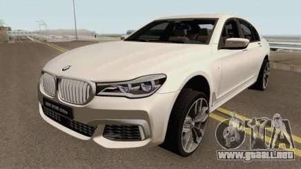 BMW M760Li xDrive 2017 para GTA San Andreas