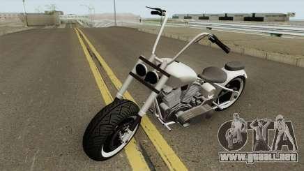 Western Motorcycle Zombie Chopper GTA V para GTA San Andreas