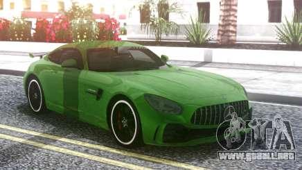 Mercedes-Benz AMG GT R 2017 Green para GTA San Andreas