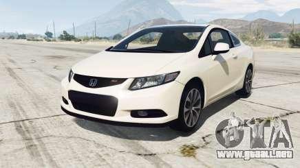 Honda Civic Si Coupe (FG) v1.1 [replace] para GTA 5