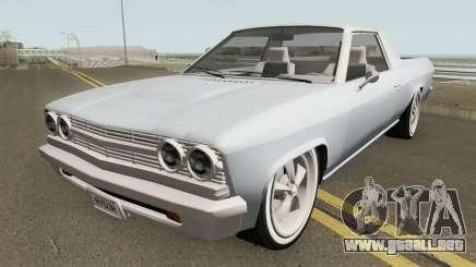 Chevrolet El Camino SS 396 (Picador Style) 1968 para GTA San Andreas