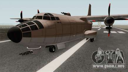 RM-10 Bombushka GTA V para GTA San Andreas