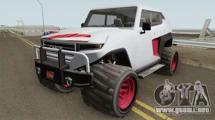 Canis Freecrawler GTA V IVF para GTA San Andreas