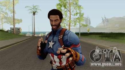 CJ Capitan America para GTA San Andreas