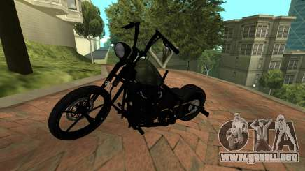 Harley Davidson 110cid Night Train para GTA San Andreas