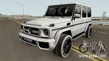 Mercedes-Benz G65 AMG High Quality para GTA San Andreas