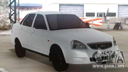 Lada Priora White para GTA San Andreas
