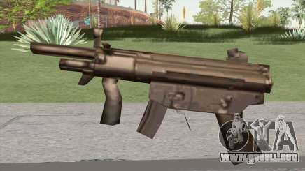 MP5 From GTA Vice City LQ para GTA San Andreas