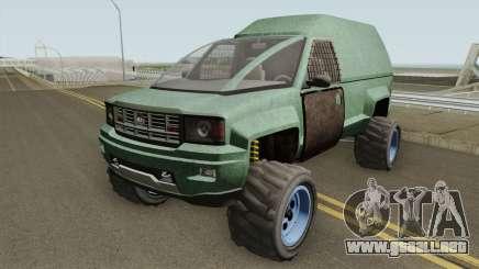 Declasse Brutus Apocalypse GTA V para GTA San Andreas