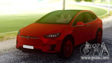 Tesla Model X Red para GTA San Andreas