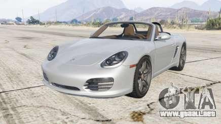 Porsche Boxster S (987) 2009 v1.1.1 [replace] para GTA 5