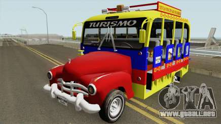 GMC 3100 Bus Escalera para GTA San Andreas