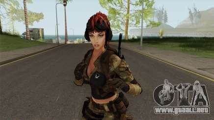 Engineer From Squad Aurora (Warface) para GTA San Andreas