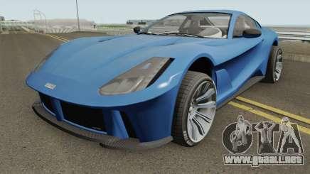 Grotti Itali GTO GTA V HQ para GTA San Andreas