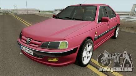 Peugeot Pars MQ para GTA San Andreas