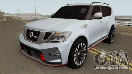 Nissan Patrol Nismo HQ para GTA San Andreas
