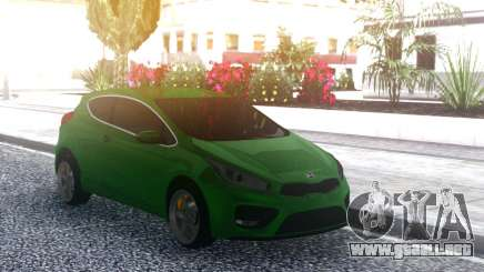 Kia Ceed 2014 para GTA San Andreas
